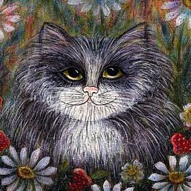 Natalie Holland - Cat In Garden