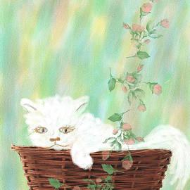 Rosalie Scanlon - Cat in the Basket
