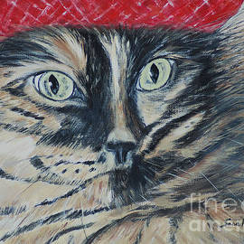 Cat In the Red Beret. Hello Pearl Collection 2015
