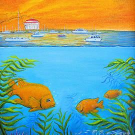 Jerome Stumphauzer - Catalina Island Cove