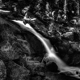 Roger Passman - Cathedral Falls from the Tioga Pass Road