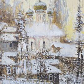 Ilya Kondrashov - Cathedral Over the Snowy Village