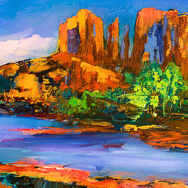 Elise Palmigiani - Cathedral Rock Afternoon