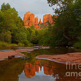 Ruth Jolly - Cathedral Rock at Sunset