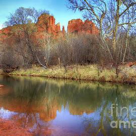 Teresa Zieba - Cathedral Rock Reflection 2