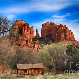 Teresa Zieba - Cathedral Rock and Barn