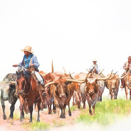 David and Carol Kelly - Cattle Drive