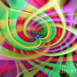 Sue Melvin - Caught Up in a Colorful Swirl