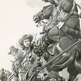 Cavalry Charge - Pat Nicolle