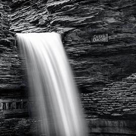 Stephen Stookey - Cavern Cascade BW - Watkins Glen