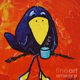 LimbBirds Whimsical Birds - CAW-fee Break