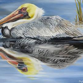 Phyllis Beiser - Cedar Point Pelican 2