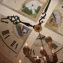 Terry Cobb - Ceiling Clock and Fixture
