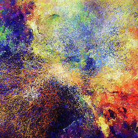 Georgiana Romanovna - Celestial Explosion Abstract
