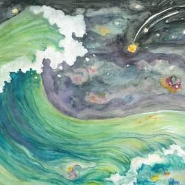 Lynn Maverick Denzer - Celestial Sky and  Big Wave
