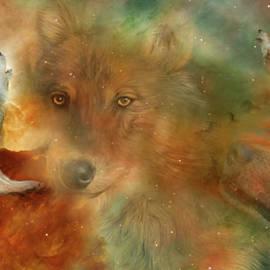 Carol Cavalaris - Celestial Wolves