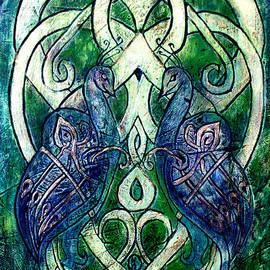 D Renee Wilson - Celtic Peacocks