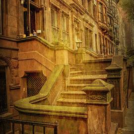 Geraldine Scull   - Central Park West Brownstones