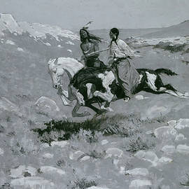 Ceremony of the Fastest Horse - Frederic Remington
