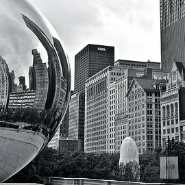 Frozen in Time Fine Art Photography - Charcoal Cloud Gate
