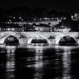 Joan Carroll - Charles Bridge Prague Night