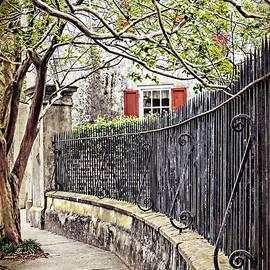 Melissa Bittinger - Charleston Antique Wrought Iron Fence Stonewall