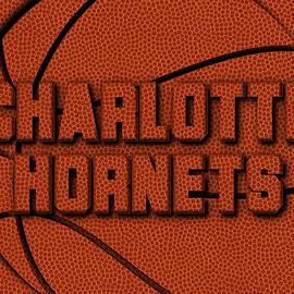 CHARLOTTE HORNETS LEATHER ART - Joe Hamilton