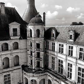 Chateau de Chambord Courtyard and Staircase  - Olivier Le Queinec