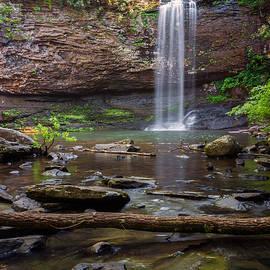 Cherokee Falls - Cloudland State Park Georgia