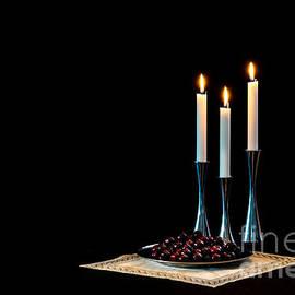 Torbjorn Swenelius - Cherries and candles in steel
