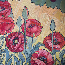 Irina Effa - Cherries and Poppies