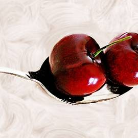 CJ Anderson - Cherries On Silver Over Cream