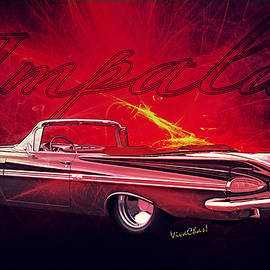 Chas Sinklier - Chevy Impala Convertible for 1959