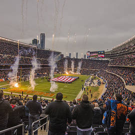 David Haskett - Chicago Bears Soldier Field National Anthem 7745