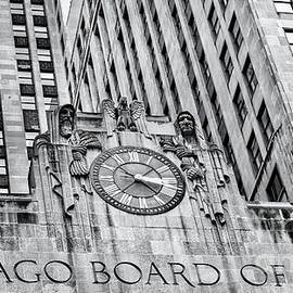 Jerry Fornarotto - Chicago Board of Trade bw