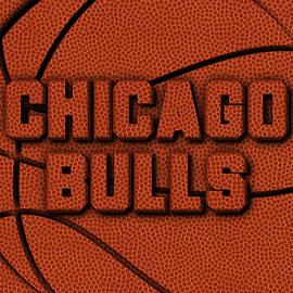 CHICAGO BULLS LEATHER ART - Joe Hamilton