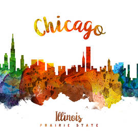 Chicago Illinois 26 - Aged Pixel