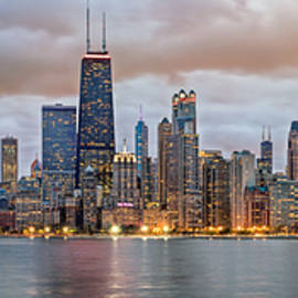 James Udall - Chicago Skyline at Dusk