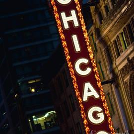 Sonja Quintero - Chicago Theater Neon