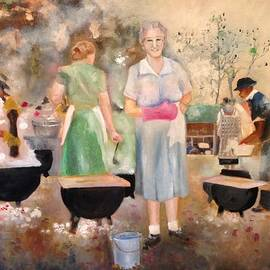 Jennifer Buerkle - Chicken Pileau On The Grounds Of Mt. Zion