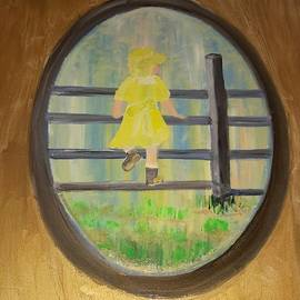 Cindy  Riley - Child on Fence