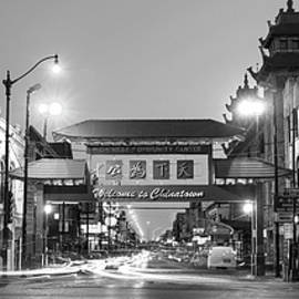 Steve Gadomski - Chinatown Chicago BW