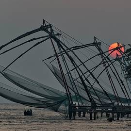 Chinese Fishing Nets, Cochin - Marion Galt
