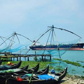Athin Alias - Chinese Fishing Nets #fortkochi