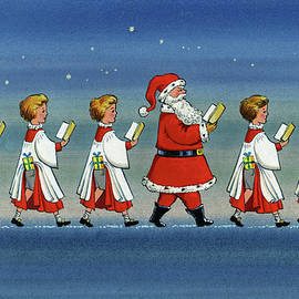Choirboys and Santa - Stanley Cooke