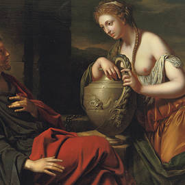 Christ and the Samaritan Woman - Adriaan van der Werff