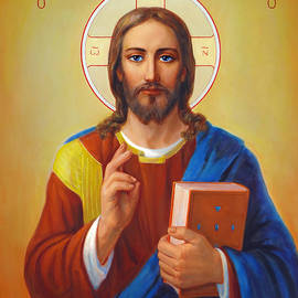 Svitozar Nenyuk - Christ Pantocrator - Cristo Pantocratore
