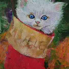 Christmas Kitten - Michael Creese