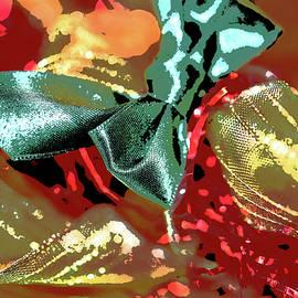 Linda Brody - Christmas Ribbons and Bows Photopainting 2