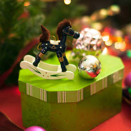Maggie Terlecki - Christmas Rocking Horse - no text